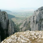 Cheile Turzii vedere spre Petresti